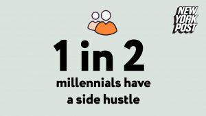 1 in 2 have side hustle