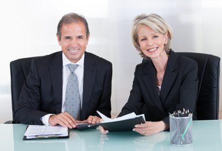 man woman executives